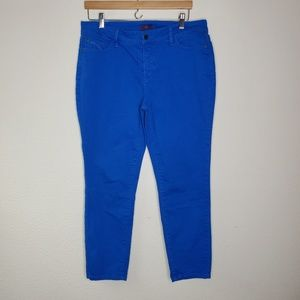 Not Your Daughters Blue Ankle Skinny Jeans
